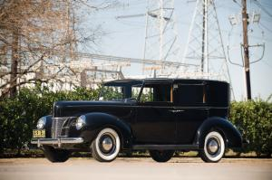 Ford Panel Brougham by Rollson 1940 года
