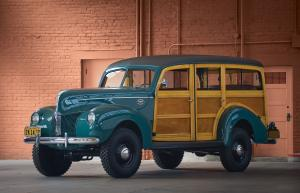 1940 Ford Standard Station Wagon by Marmon-Herrington