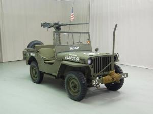 Ford GPW Jeep 1943 года