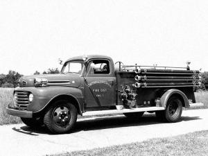 1950 Ford F-5 Fire Engine by Maxim