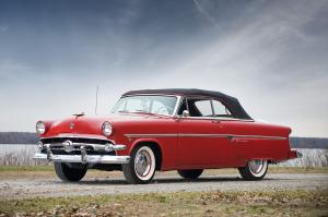 Ford Crestline Sunliner Convertible 1954 года