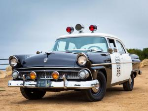 Ford Customline 4-Door Sedan Police 1955 года
