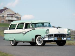 Ford Country Sedan 8-Passenger Station Wagon '1956