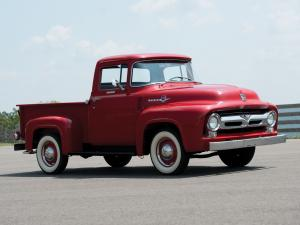 Ford F-100 Custom Cab Pickup '1956