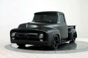 Ford F-100 Custom Pickup (Satin Black) 1956 года