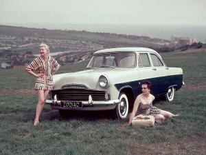 1956 Ford Zodiac Saloon