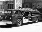 Ford C-850 Big Job by Central Fire Truck Corporation 1957 года
