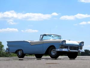 Ford Fairlane 500 Skyliner Retractable Hardtop 1957 года