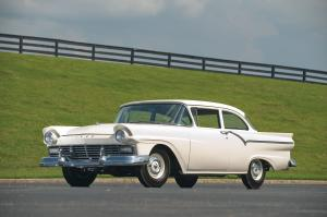 1957 Ford Supercharged Custom Tudor Sedan