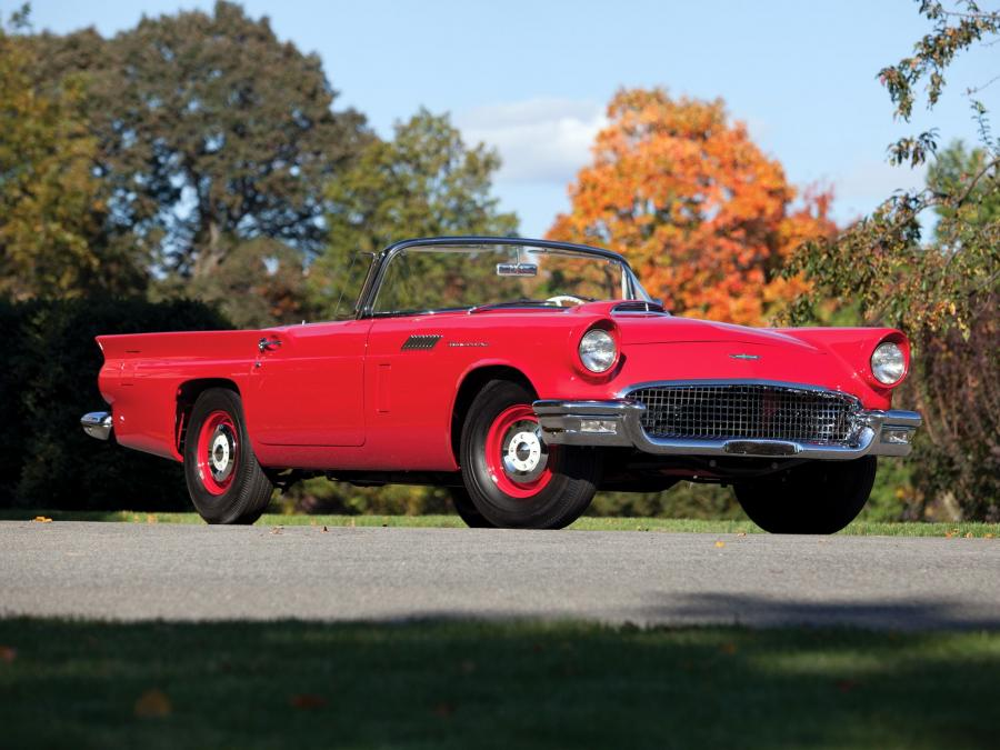 1957 Ford Thunderbird F-Code Special Supercharged