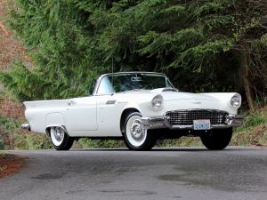 Ford Thunderbird Special Supercharged 312-300 HP 1957 года