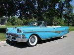 Ford Fairlane 500 Sunliner Convertible 1958 года
