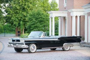 Ford Fairlane Galaxie 500 Sunliner Convertible 1959 года