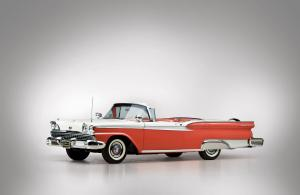 1959 Ford Galaxie Skyliner Retractable Hardtop Red