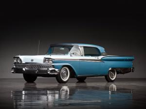 Ford Galaxie Skyliner Retractable Hardtop 1959 года