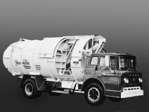 Ford C-750 Truxmore Pakker Garbage Truck 1960 года