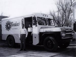 1960 Ford F-600 Milk Delivery Truck