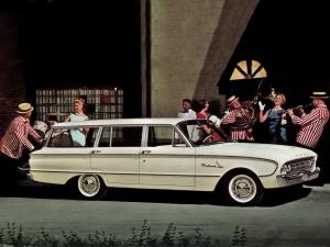 1961 Ford Falcon Deluxe 4-Door Station Wagon