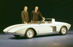 Ford Mustang Roadster Concept Car 1962 года