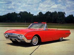 Ford Thunderbird Convertible 1962 года