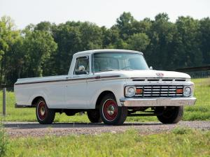 Ford F-100 Custom Cab Styleside Pickup 1963 года