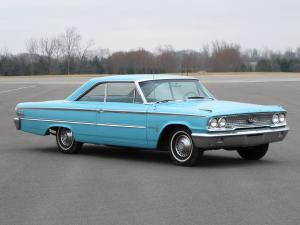 1963 Ford Galaxie 500 Fastback Hardtop