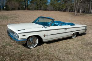 Ford Galaxie 500XL Sunliner R-Code Convertible 1963 года