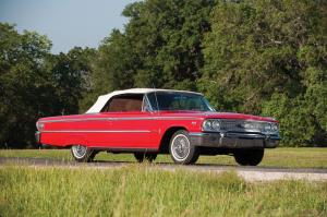 Ford Galaxie 500XL Sunliner Z Code Convertible 1963 года