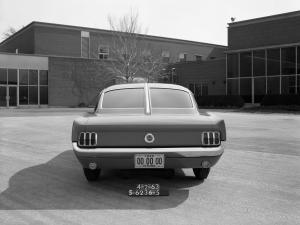 1963 Ford Mustang Cougar Fastback Proposal