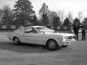 Ford Mustang T5 Prototype 1963 года