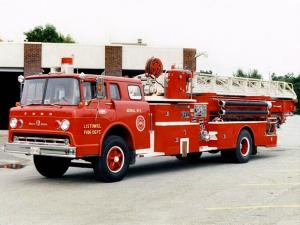 Ford C-850 Super Duty Aerial Truck 1964 года