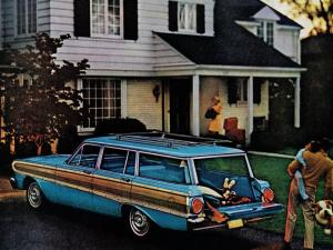 1964 Ford Falcon Futura Squire Station Wagon