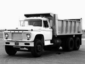 1965 Ford FT-950 Super Duty Dump Truck