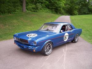 1965 Ford Mustang HardTop Race Car