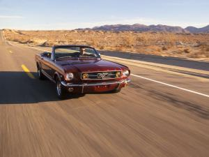 Ford Mustang K-Code Convertible 1965 года