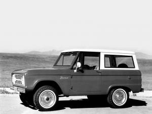 Ford Bronco Wagon 1966 года