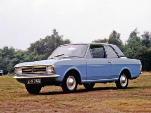 Ford Cortina 2-Door Saloon 1966 года