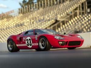Ford GT40 Race Car 1966 года