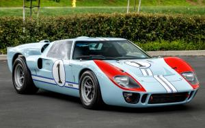 Ford GT40 built for from Ford v Ferrari by Superformance 1966 года
