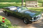Ford Mustang GT Convertible 1966 года