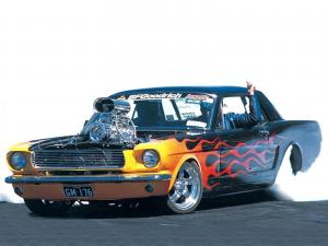 Ford Mustang HardTop Street Machine bonspeed 1966 года