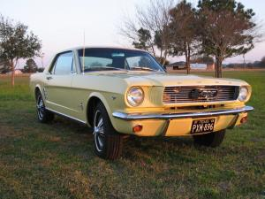 Ford Mustang HardTop 1966 года