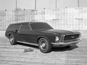 1966 Ford Mustang Station Wagon Proposal