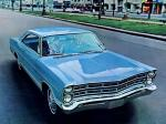 Ford Galaxie 500 2-door Hardtop 1967 года