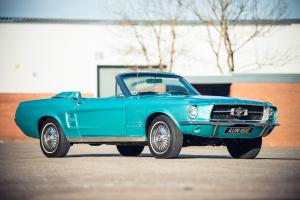 Ford Mustang Convertible 1967 года