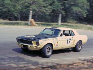 1967 Ford Mustang Jerry Titus Terlingua Team Race Car