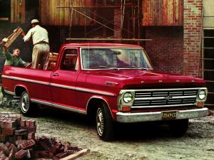 1968 Ford F-100 Ranger Pickup