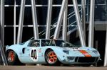 Ford GT40 Gulf-Mirage Lightweight Racing Car 1968 года