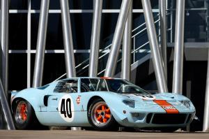 1968 Ford GT40 Gulf-Mirage Lightweight Racing Car