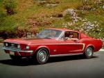 Ford Mustang GT Fastback 1968 года